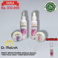 Paket Standard Brightening tanpa Serum Dr Melisch