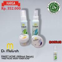 Paket Standard Acne tanpa serum Dr Melisch