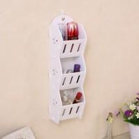 Harga mh50300 storage decorative rack shabby chic rak kosmetik hp remote | antitipu.com