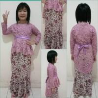 Baju Anak Perempuan Kebaya Cewek Cewe Cew Batik Pakaian Modern Murah