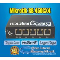 Paket Mikrotik RB450GX4 Include Setting