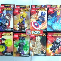 PG 6003 Avengers Minifigure End Game PG6003 Pogo Super Hero Marvel