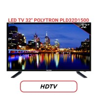 "LED TV 32"" POLYTRON PLD32D1500 USB Movie Full HD Garansi Resmi"