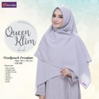 Hijab Segiempat Polos ORI Nibras Queen Klim Wollpeach Premium