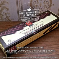 Coklat Stik Chocolate Batons Compound Sticks Cokelat Tulip - 500 gr