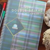 Buku PP Double Spiral Folio 80 Lembar merk Locomotif Akuntansi Premium