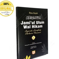 Jamiul Ulum Wal Hikam Jilid 1 - Pustaka Azzam
