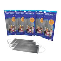 Paket Hemat masker skrineer 5s Grey 5 Pack