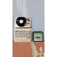 DEKORASI RUMAH / WALL DECOR ART 20x30cm (A4) |VINYL001