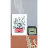 DEKORASI RUMAH / WALL DECOR ART 20x30cm (A4) |PCKYRBG