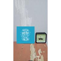 DEKORASI RUMAH / WALL DECOR ART 20x20cm |TRVLING001