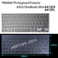Keyboard Protector ASUS VivoBook Ultra A412FA - PREMIUM TPU Clear