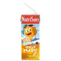 nutrisari jeruk madu 200ml baru enak tanpa pengawet dan pemanis buatan