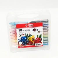 Crayon / Oil Pastel TITI 18 warna