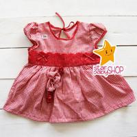 Dress Bayi Perempuan Dress Anak Cewek Renda FREE Bandana