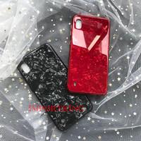 Samsung A70 Shiny Shell Diamond Glass Hard Case