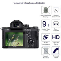 Screen Guard Protector Tempered Glass Sony A7 A7R A7S mark II mark III