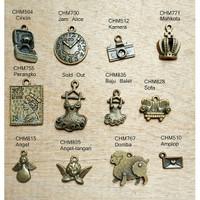 Vintage Bandul Kalung Gelang / Charm / Pendant / Liontin / Aksesoris