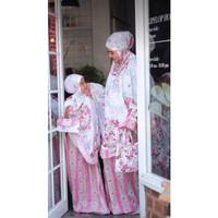 Mukena Couple Bali Nadira (Ibu Dan Anak)