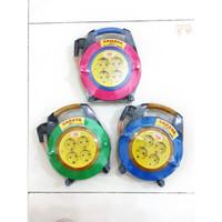 Kabel Roll 15 Meter Full / Asli Tembaga konektor gulung box portable