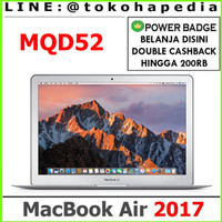 Macbook Air 2017 512GB MQD42 DualCore i7 1.8GHz / 8GB RAM - SILVER