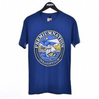 ARCHIPELAGO / Men Short Sleeves Tshirt Blue - Premium Nation Original