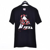 NATURE / Men Short Sleeves Tshirt Black - Premium Nation Original