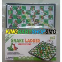 Snake Ladder Iron Board S2204 / Mainan Ular Tangga / Mainan Keluarga