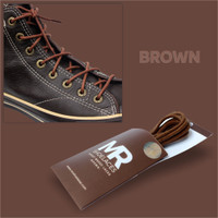 Tali Lilin 100cm Variasi Warna untuk Sepatu Boots (Round Waxed)