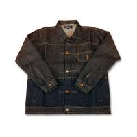 Jacket Denim Black x Blue Trucker Type II