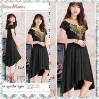 Dress Kerancang Bordir Monica