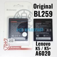 Baterai BL259 Original OEM 100% BL-259 Lenovo K5 K5+ A6020 Batre