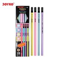 Pencil / Pensil Joyko P-108 / 2B / Pearl / 1 BOX 12 PCS
