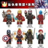 Avengers end game minifigure lego Super hero Infinity war Marvel 6065