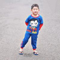 Pajamas Dessan Superhero Superman Chibi