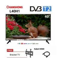CHANGHONG L40H1 LED TV 40 INCH DIGITAL-DVB-T2/FULL HD