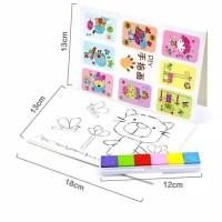 Let's Color Finger Ink Pad Inkpad / Mainan Kids Fingerpaint Bantalan