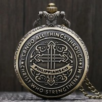 I Can Do All Things Through Christ Who Strengthens Me Pocket Watch
