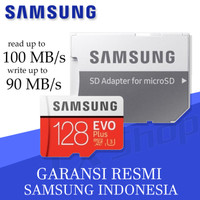 Samsung MicroSD 128GB EVO PLUS 100MB/s Micro SD Card Samsung 128 gb