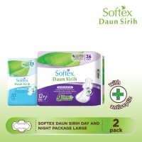 Softex Daun Sirih Day and Night Package (Large)