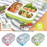 JN Lunch Box Kotak Makan Stainless TEDEMEI 6540