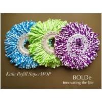 Bolde Refill Ganti Isi Ulang Kain Pel Super Mop Bolde