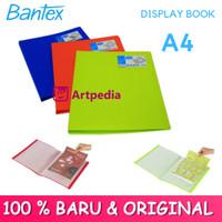 Bantex Clear Holder A4 20 Pocket / Clear Holder A4 Bantex