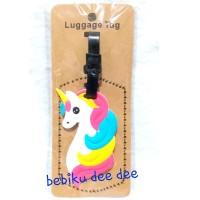 Tag Koper/Luggage Bag Card Cartoon Unicorn C