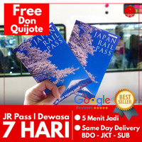 JAPAN RAIL PASS 7 HARI (DEWASA) | JR Pass Jepang Shinkansen Train