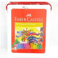 Crayon Faber Castell 72 Warna/ Hexagonal Oil Pastel Fabercastell 72W