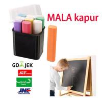 MALA Kapur Papan Tulis 9 Warna / Blackboard Chalk ALAT TULIS ANAK