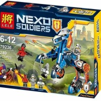 lele 79236 Nexo Soldiers Super Hero Nick knights