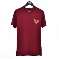 SIEDDRUCK / Men Short Sleeves Tshirt Maroon - Premium Nation Original