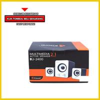 SPEAKER USB MULTIMEDIA KISONLI U2400 SPEAKER POWER BASS MURAH